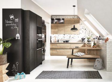 Scandinavisch design gecombineerd met zwart staal