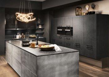 Minimalistische Keuken Beton Grijs Steen Keukenmatch