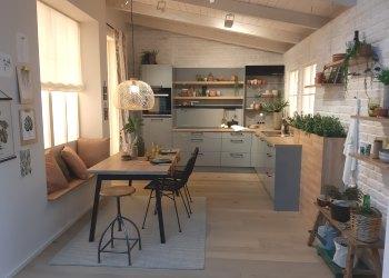 scandinavische keuken grijs